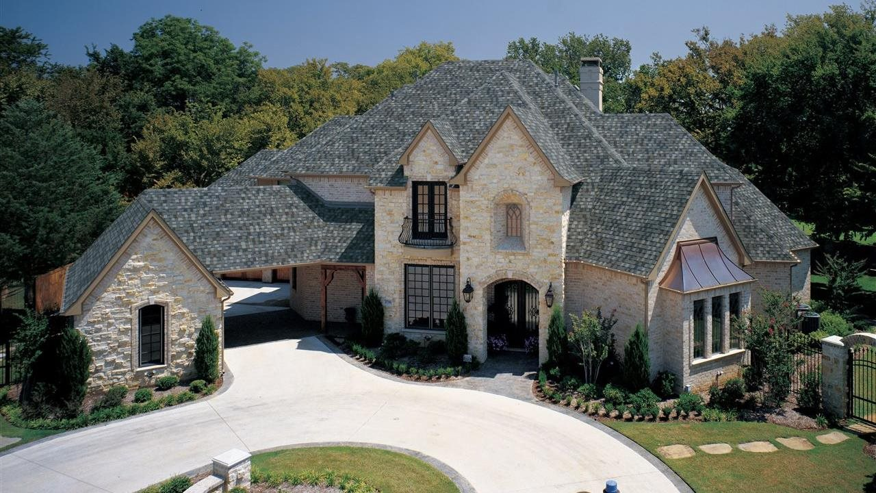 huge upscale home with tamko shingles