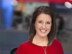 Emily Sutton, meteorologist and storm chaser for KFOR-TV in Oklahoma City