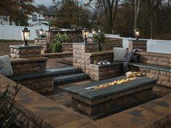 on trend upscale outdoor fire pit