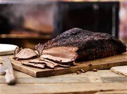 roast beeff on a cutting board