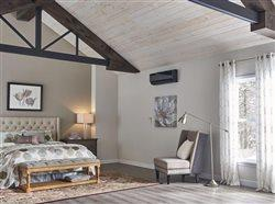 well insulated attic bedroom
