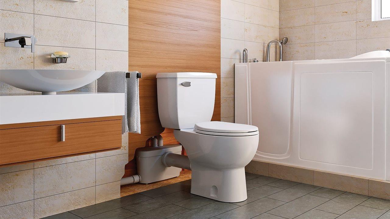 saniflo Sanibest Pro grinder toilet