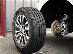 Hankook tire close-up