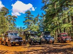 trucks ready for camping