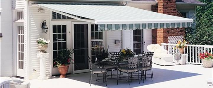 Awning Over Patio