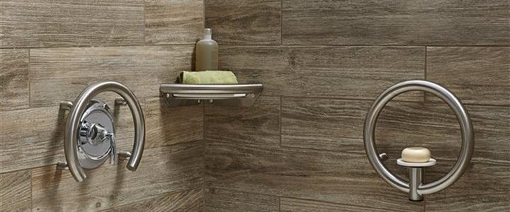 Upscale Fixtures In Bath Shower