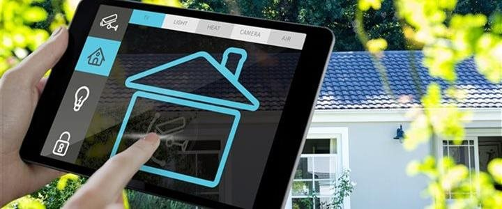 internet of things on tablet controlling house
