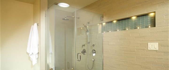 solatube skylight in shower