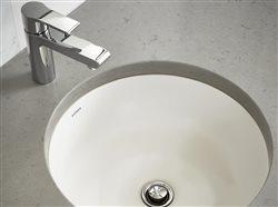 Sink faucet and sink in bath