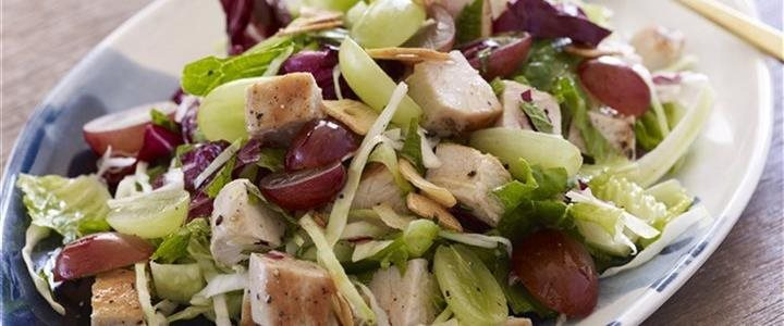 Garlic chopped salad
