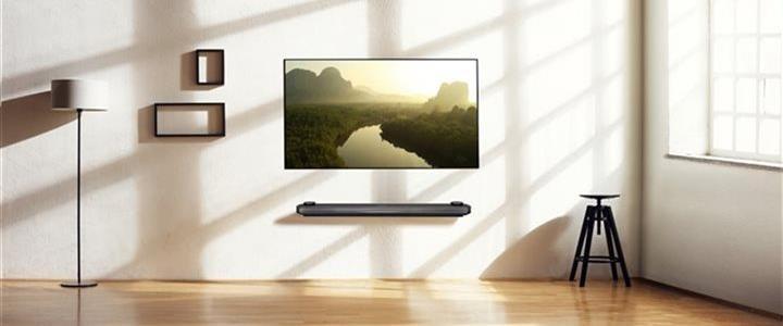 LG TV in modern livingroom
