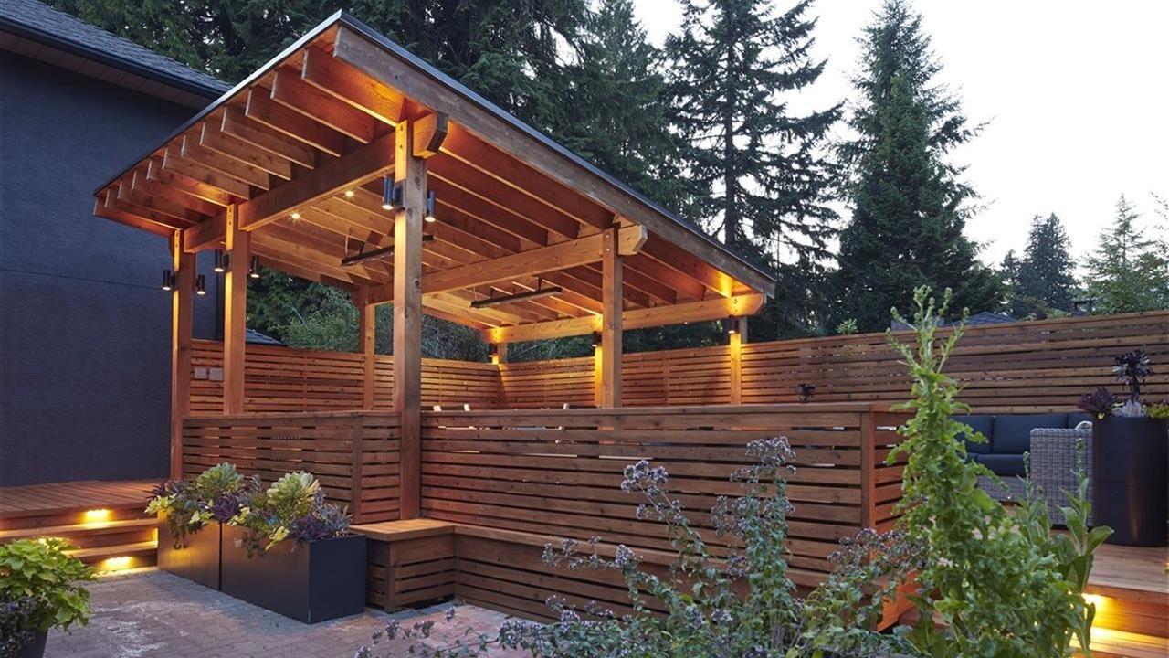 red cedar backyard oasic