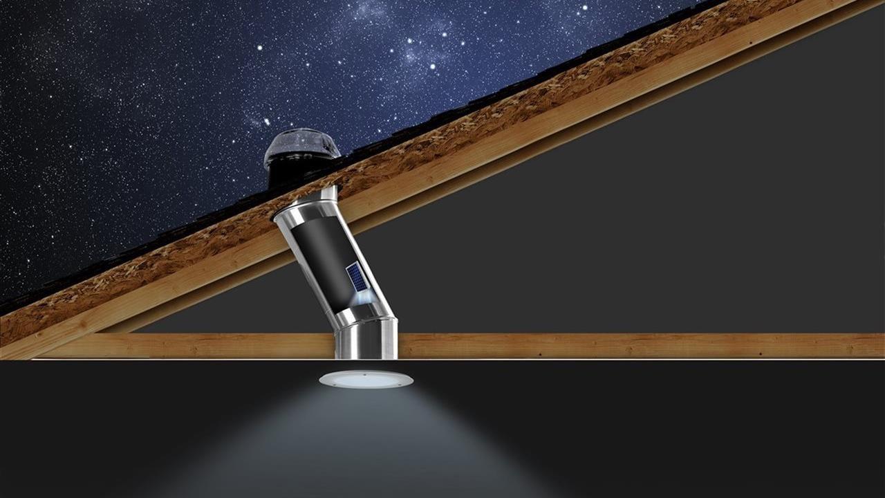 Solatube Solar Electric NightLight illustration