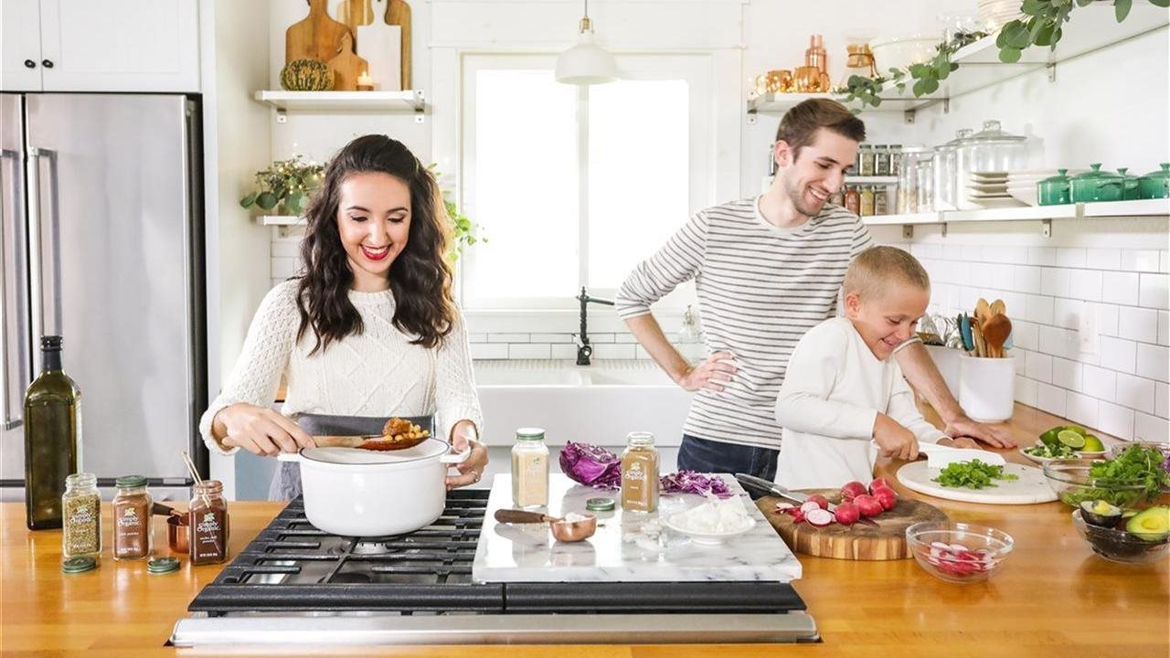Spread joy with a simple home-cooked meal