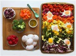egg dish with veggies