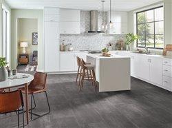 beautiful flooring in kitchen