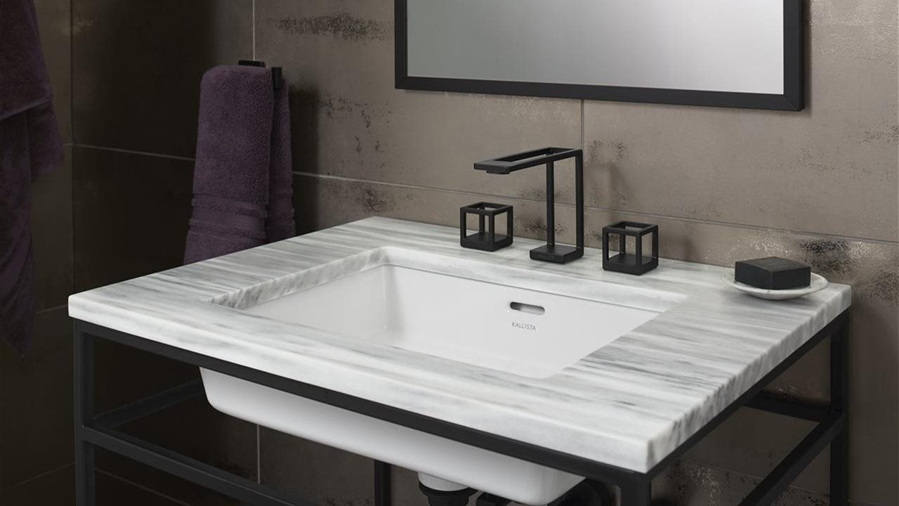 ultra modern faucet and bath sink