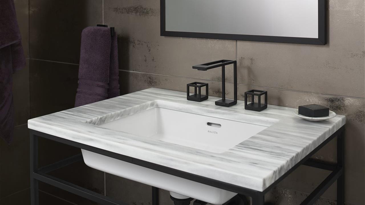ultra modern faucet and bath sink