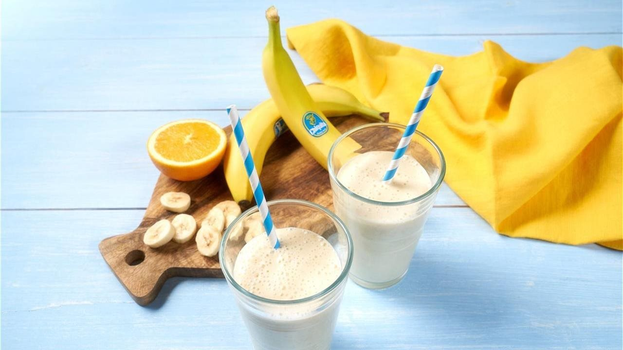 smoothies made with bananas