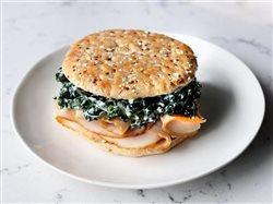 Turkey and kale sandwich