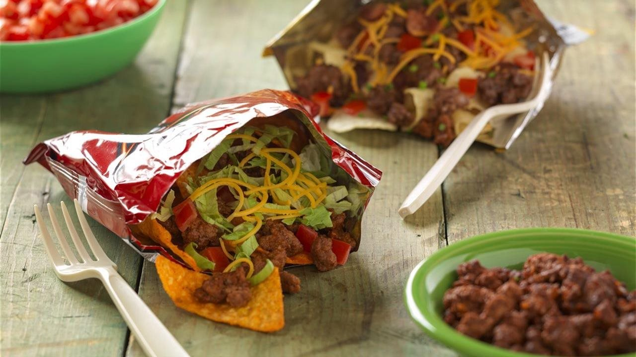 on the go beef taco