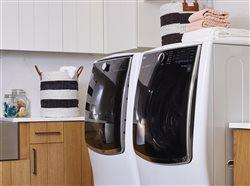 LG washer and dryer in a laundry room